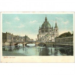 carte postale ancienne BERLIN. Der Dom