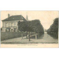 carte postale ancienne 02 NEUILLY-SAINT-FRONT. Ecoles et Promenades 1908