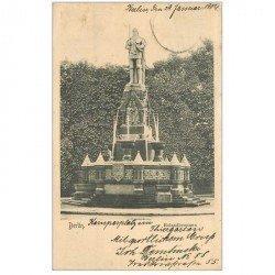carte postale ancienne BERLIN. Rolandbrunnen 1904