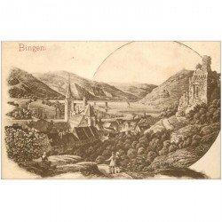 carte postale ancienne BINGEN