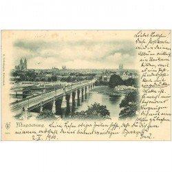 carte postale ancienne Carte Pionnière Allemagne 1900 MAGDEBURG