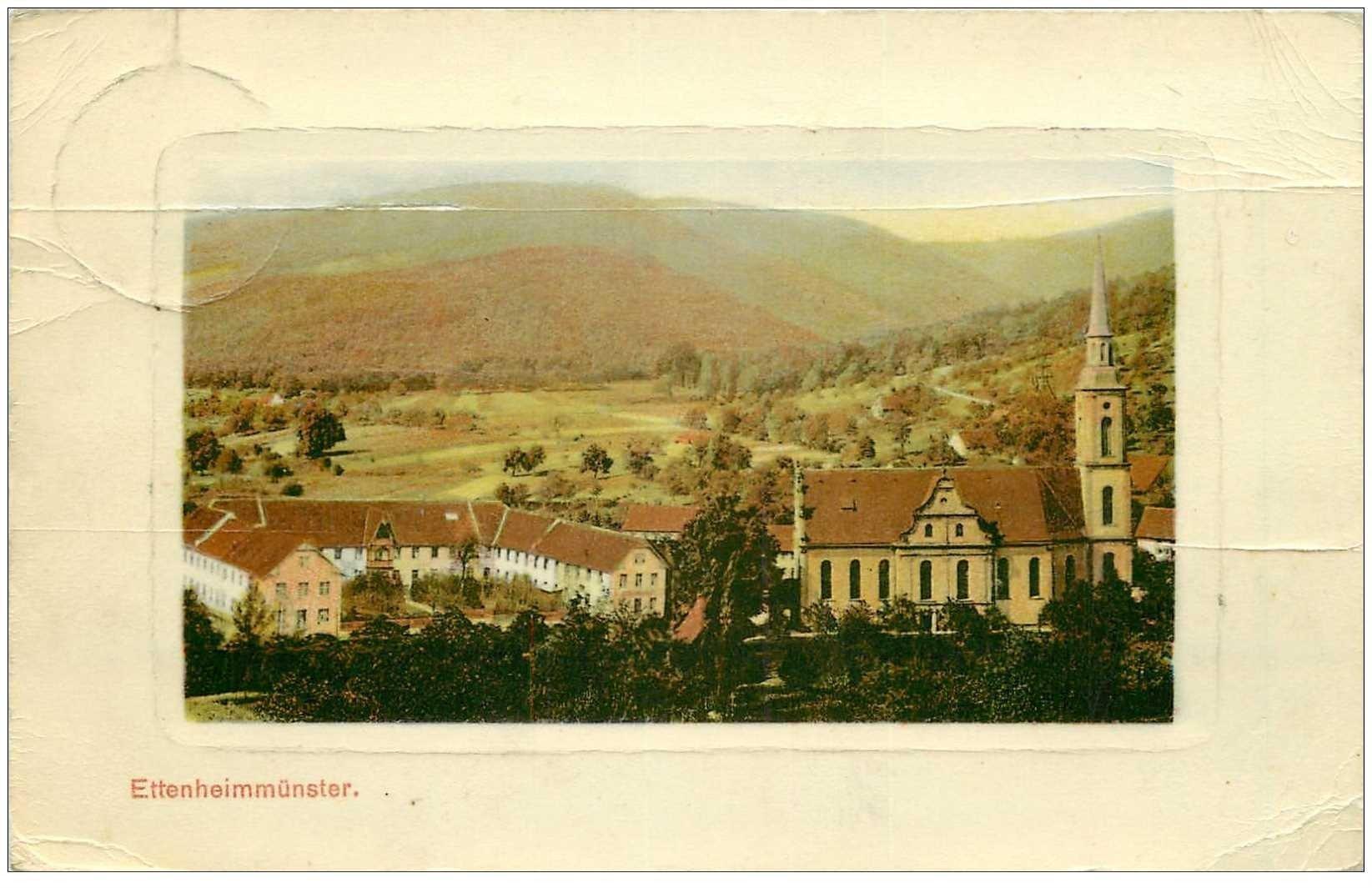 carte postale ancienne DEUTSCH ALLEMAGNE. Ettenheimmünster 1909