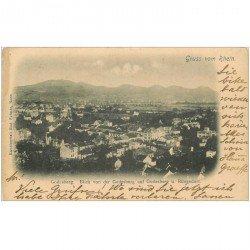 carte postale ancienne DEUTSCH ALLEMAGNE. Godesberg Godesburg auf Rüngsdorf 1900