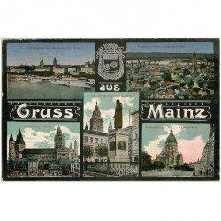 carte postale ancienne DEUTSCHES ALLEMAGNE. Mainz
