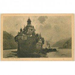carte postale ancienne DEUTSCHES ALLEMAGNE. Rhein die Pfalz