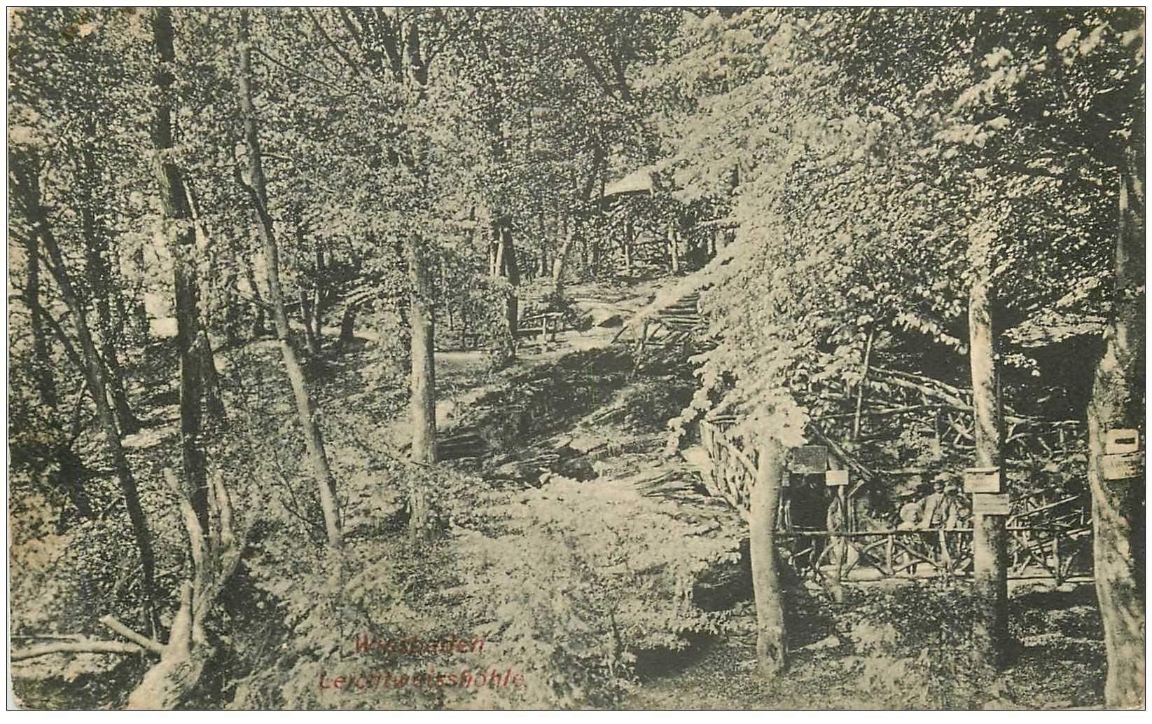 carte postale ancienne DEUTSCHES ALLEMAGNE. Wiesbaden