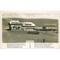 carte postale ancienne DEUTSCHLAND. Allemagne. Belchen 1954