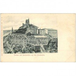 carte postale ancienne Plateau und Restauration auf dem Drachenfels