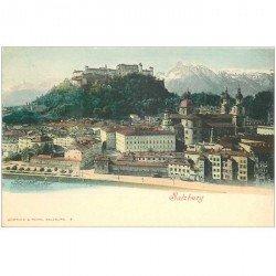 carte postale ancienne AUTRICHE OSTERREICH. Salzburg vers 1900
