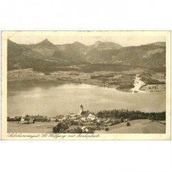 carte postale ancienne AUTRICHE OSTERREICH. Salzkammergut St. Wolfgang mit Zinkenbach 1932