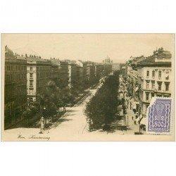 carte postale ancienne AUTRICHE OSTERREICH. Wien Kärntnerring 1925 Vienne