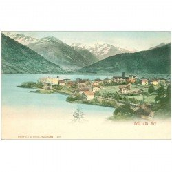 carte postale ancienne AUTRICHE. Zell am See. Salzbourg vers 1900