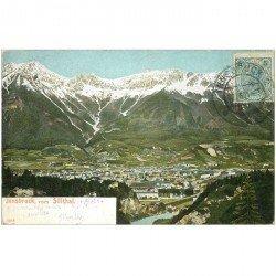 carte postale ancienne OSTERREICH AUTRICHE. Innsbruck vom Sillthal