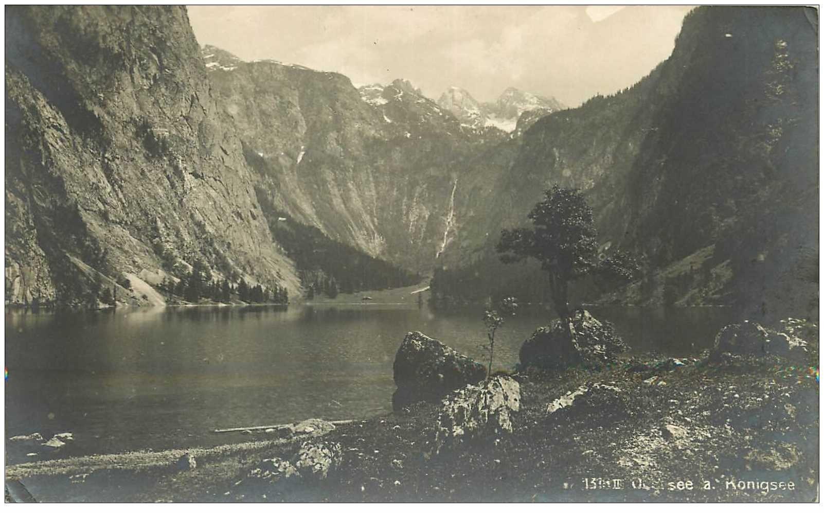 carte postale ancienne OSTERREICH AUTRICHE. Konigsee