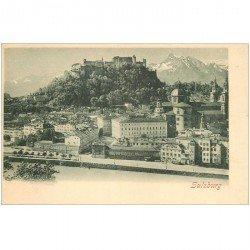 carte postale ancienne OSTERREICH AUTRICHE. Salzburg vers 1900
