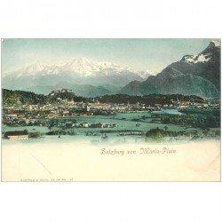 carte postale ancienne OSTERREICH AUTRICHE. Salzburg von Maria Plain vers 1900