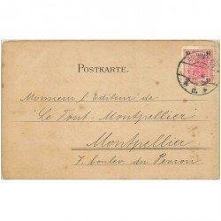 carte postale ancienne WIEN VIENNE. Carte correspondance pour Montpellier 1905