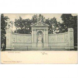 carte postale ancienne WIEN VIENNE. Grillparzer Denkmal vers 1900...