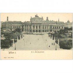 carte postale ancienne WIEN VIENNE. Hof Burgtheater
