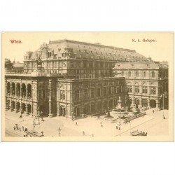 carte postale ancienne WIEN VIENNE. Hofoper