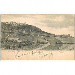 carte postale ancienne WIEN VIENNE. Kahlenberg Leopoldsberg vers 1900