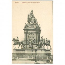 carte postale ancienne WIEN VIENNE. Maria Theresien Monument