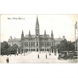 carte postale ancienne WIEN VIENNE. Neues Rathaus