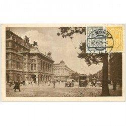 carte postale ancienne WIEN VIENNE. Opernring 1924