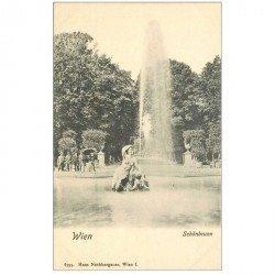 carte postale ancienne WIEN VIENNE. Schönbrunn