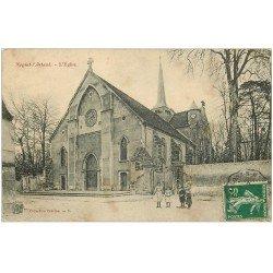 carte postale ancienne 02 NOGENT-L'ARTAUD. L'Eglise 1908