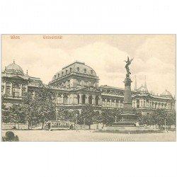 carte postale ancienne WIEN VIENNE. Universität