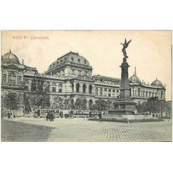 carte postale ancienne WIEN VIENNE. Universität 1908