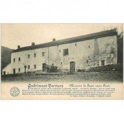 carte postale ancienne ANDRIMONT VERVIERS. Maison Jean sans Peur