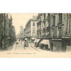carte postale ancienne 14 CAEN. Top Promotion. Caserne du Château 1910 Militaire