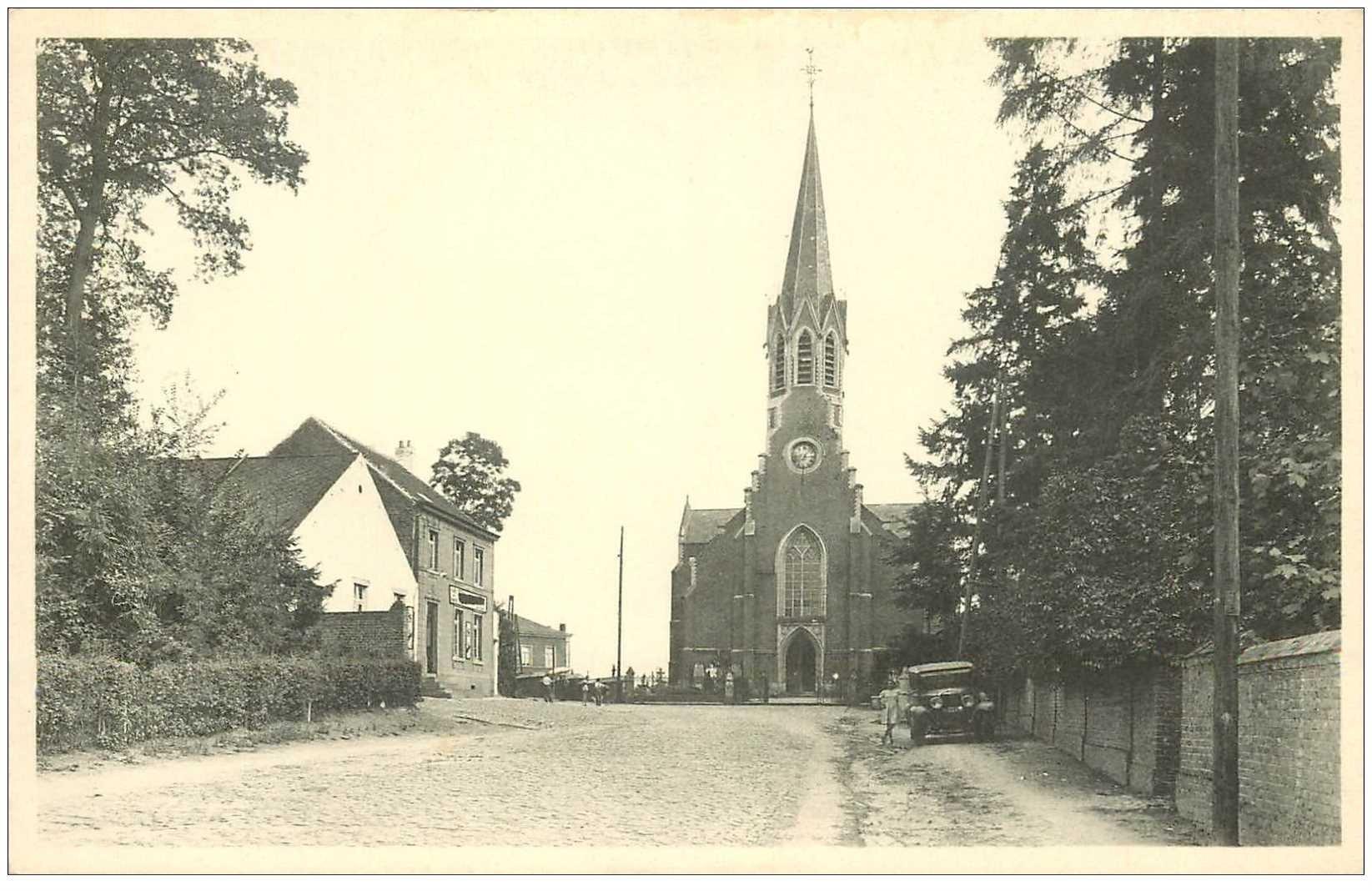 carte postale ancienne ARCHENNES. L'Eglise