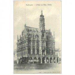 carte postale ancienne AUBENARDE. Hôtel de Ville