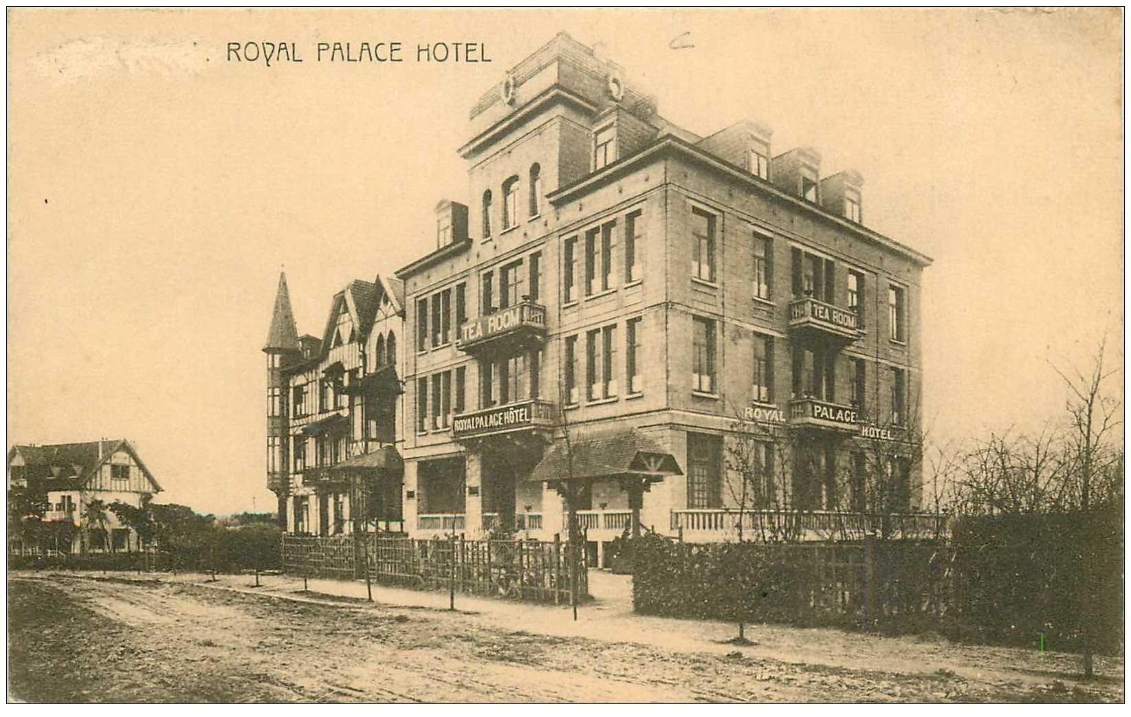 carte postale ancienne Belgique. GENVAL Royal Palace Hotel Dancing