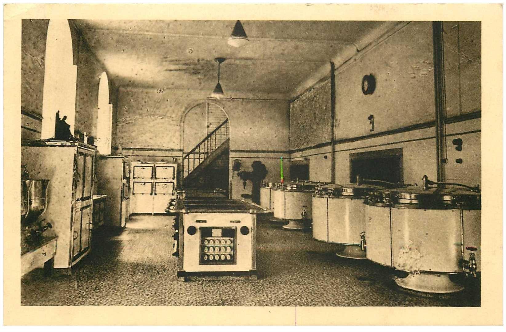 carte postale ancienne Belgique. MALONNE. Cuisines Institut Saint-Berthuin 1945