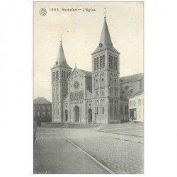 carte postale ancienne Belgique. ROCHEFORT. L'Eglise