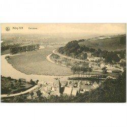 carte postale ancienne Belgique. TILFF. Panorama Ville et Rivière