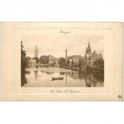carte postale ancienne BRUGGE BRUGES. Le Lac d'Amour