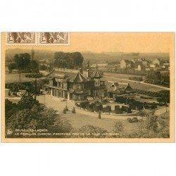 carte postale ancienne BRUXELLES. LAEKEN. Pavillon Chinois 1943
