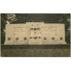 carte postale ancienne BRUXELLES. Monument Reconnaissance Britannique 1925