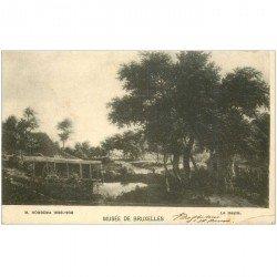 carte postale ancienne BRUXELLES. Musée le Moulin par Hobbema 1901