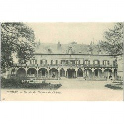 carte postale ancienne CHIMAY. Chteau de Chimay