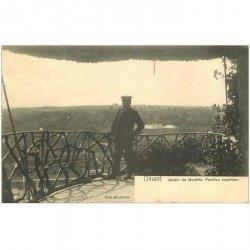carte postale ancienne DINANT. Jardin de Montfat Pavillon Impérieur
