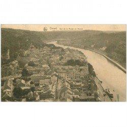 carte postale ancienne DINANT. La Meuse en Amont 1924