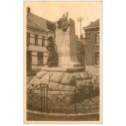 carte postale ancienne FRAMERIES. Monument Bosquétia 1948