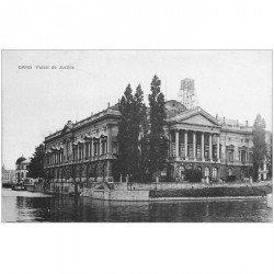 carte postale ancienne GAND GENT. Palais de Justice