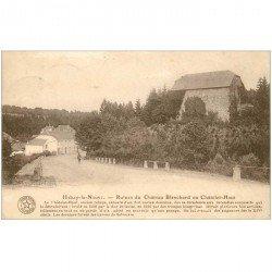 carte postale ancienne HABAYE LA NEUVE. Ruines Chteau Blanchard ou Chtelet Haut 1923